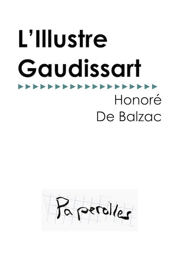 L'Illustre Gaudissart, texte intégral